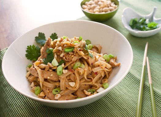 Spicy Thai Chicken Peanut Noodles 2