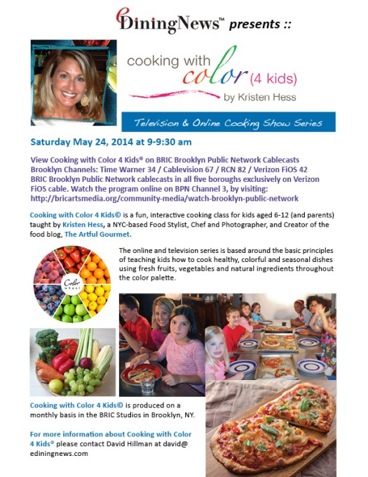 Cooking with Color 4 Kids® by Kristen Hess