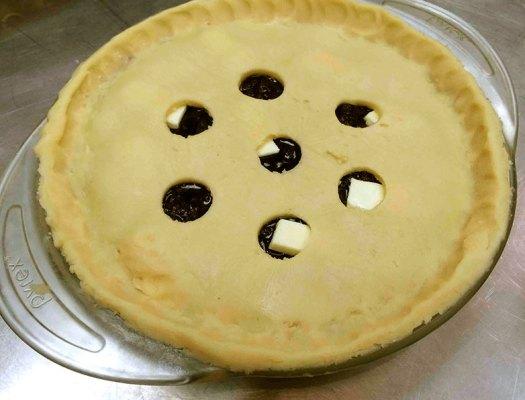 Cut Pie Holes in Crust