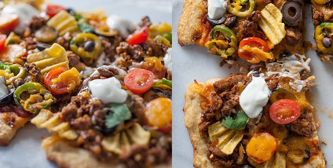 Seriously Delicious Taco Pizza