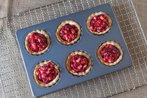 Cranberry Almond Mini Tarts