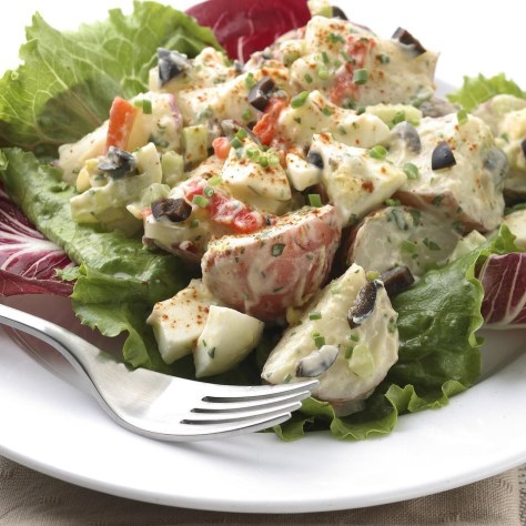 Roasted Garlic Potato Salad