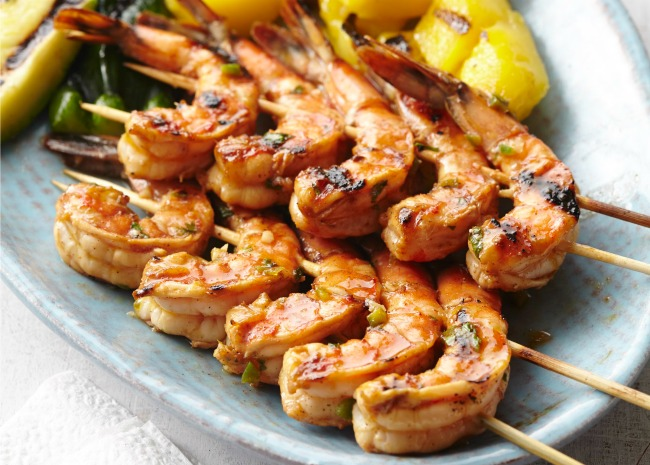 Thai BBQ Shrimp