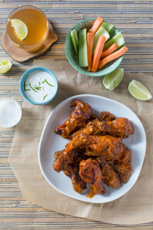 Sriracha Mango Grilled Chicken Wings
