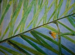 Working Weaver, 77x56cm, Watercolor on Paper