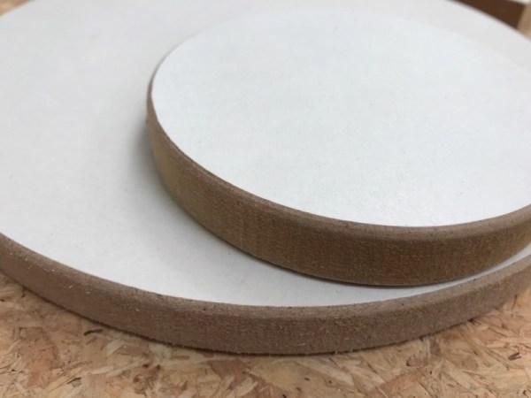 Materialen acryl gieten cirkel