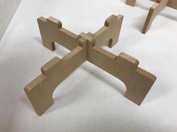 acryl en epoxy dragers kruis detail