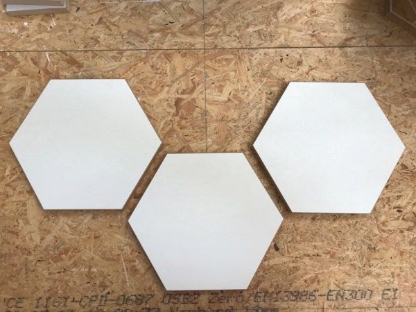 Haxagon hout MDF