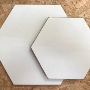 Hexagon hout divers 2