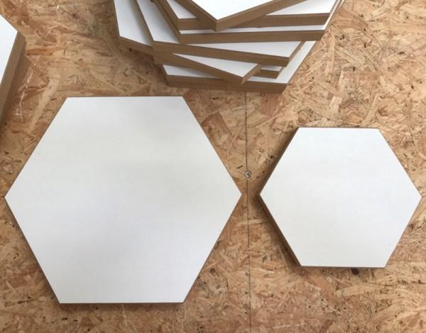 Hexagon hout divers