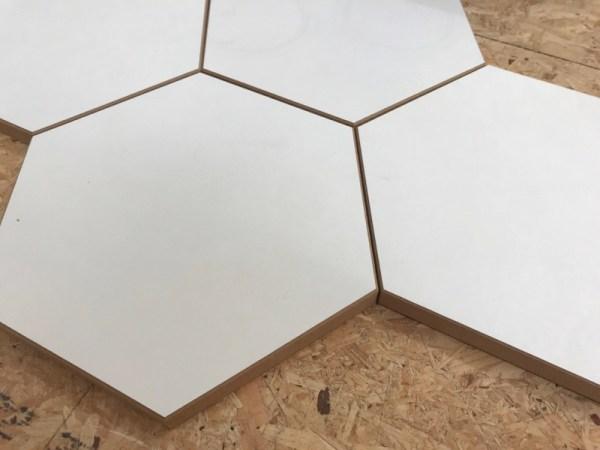 Hexagon hout puzzel
