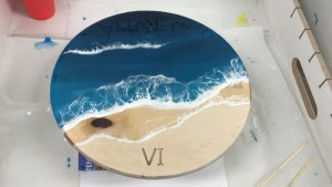 epoxy beach time acryl