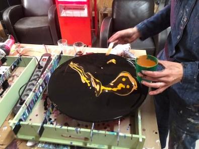 Workshop Acryl föhn-techniek