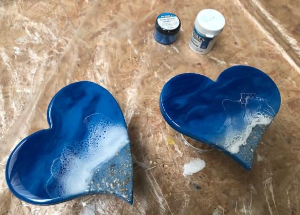 Workshop epoxy ocean art 1