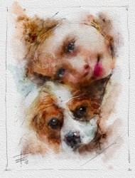 girl and dog2