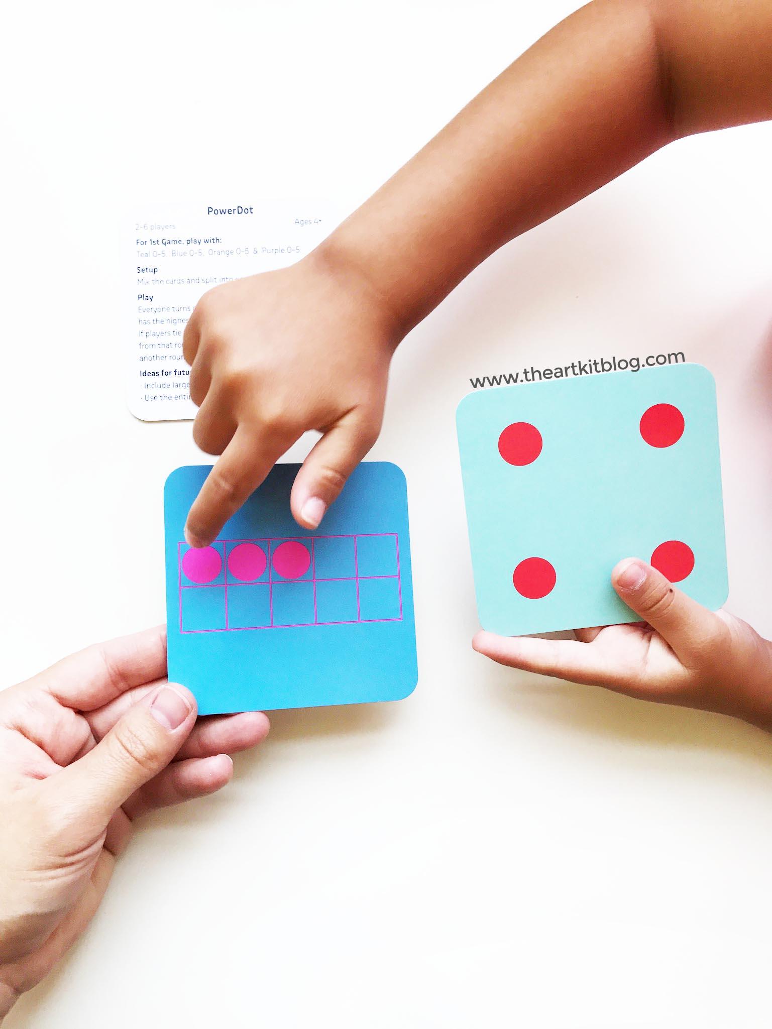 Tiny Polka Dot Game Timberdoodle Game For Kids Math