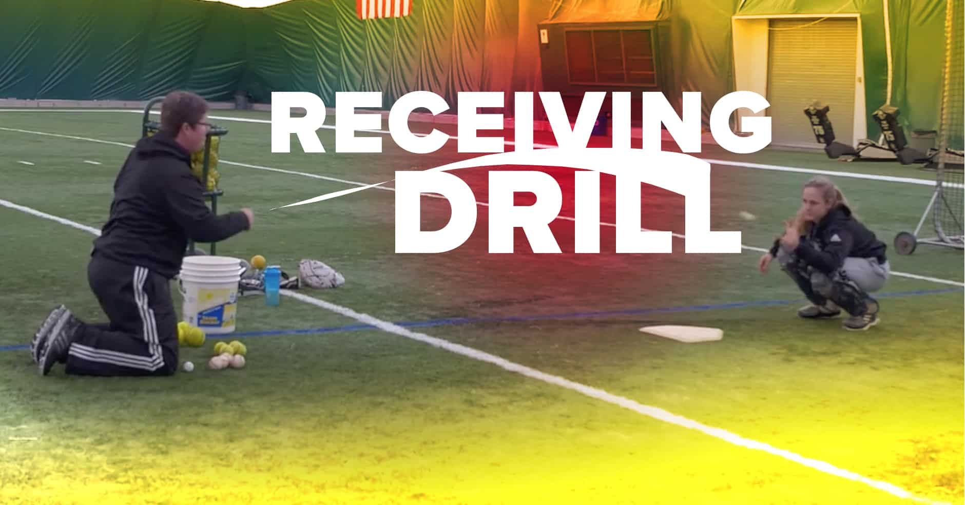 Catching Receiving Drill