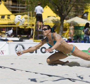 AVP Pro Beach Volleyball - Riverside Open - Riverside, California - April 17, 2009