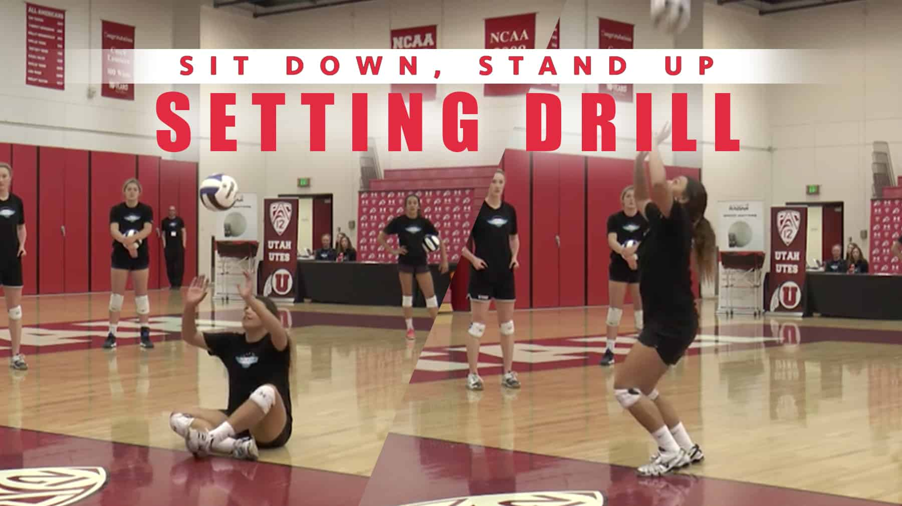 Sit Down Stand Up Setting Drill