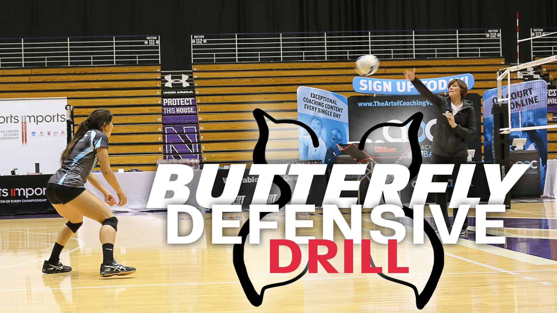 Cathy George Butterfly Defensive Drill
