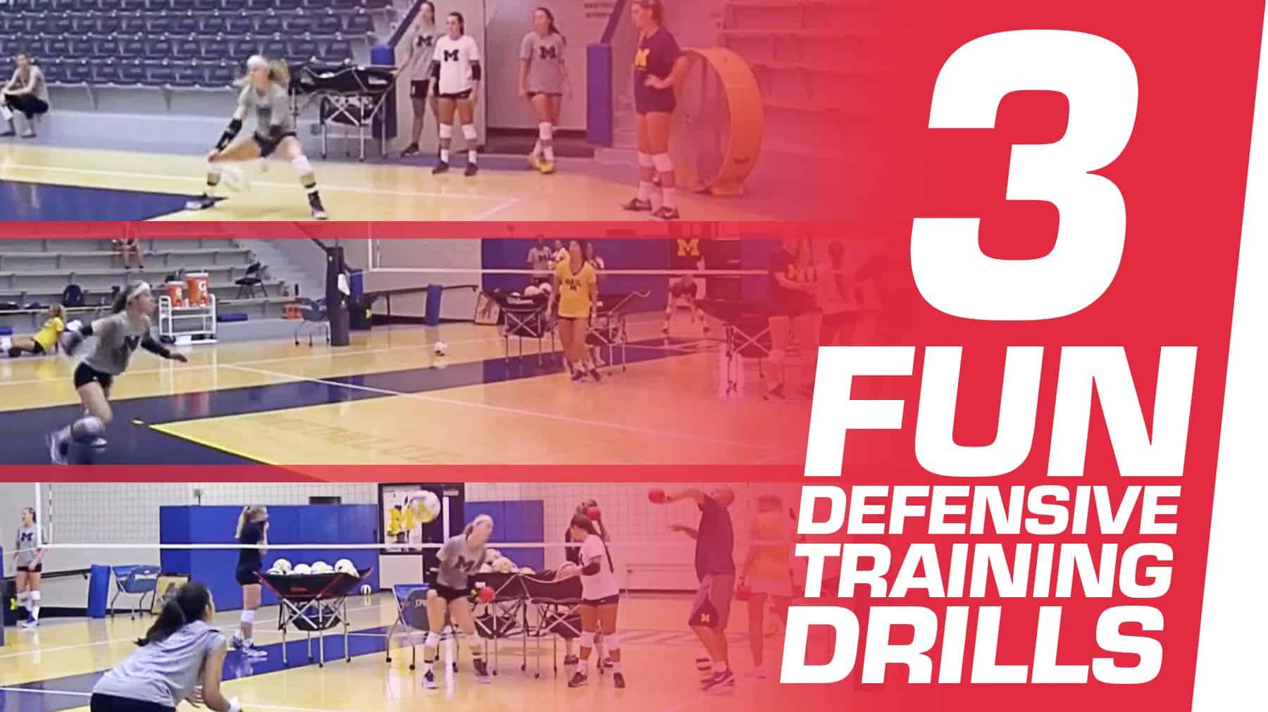 3 Fun Drills To Train Defenders