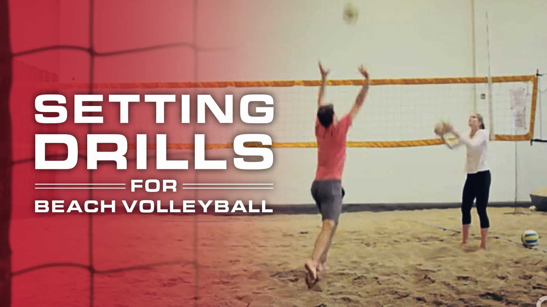 Setting Drills For Beach Volleyball
