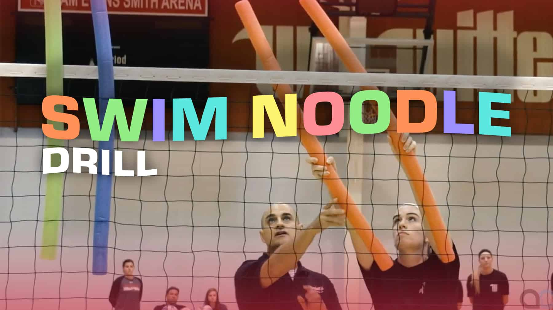 Swim Noodle Drill For Crafty Shot Making