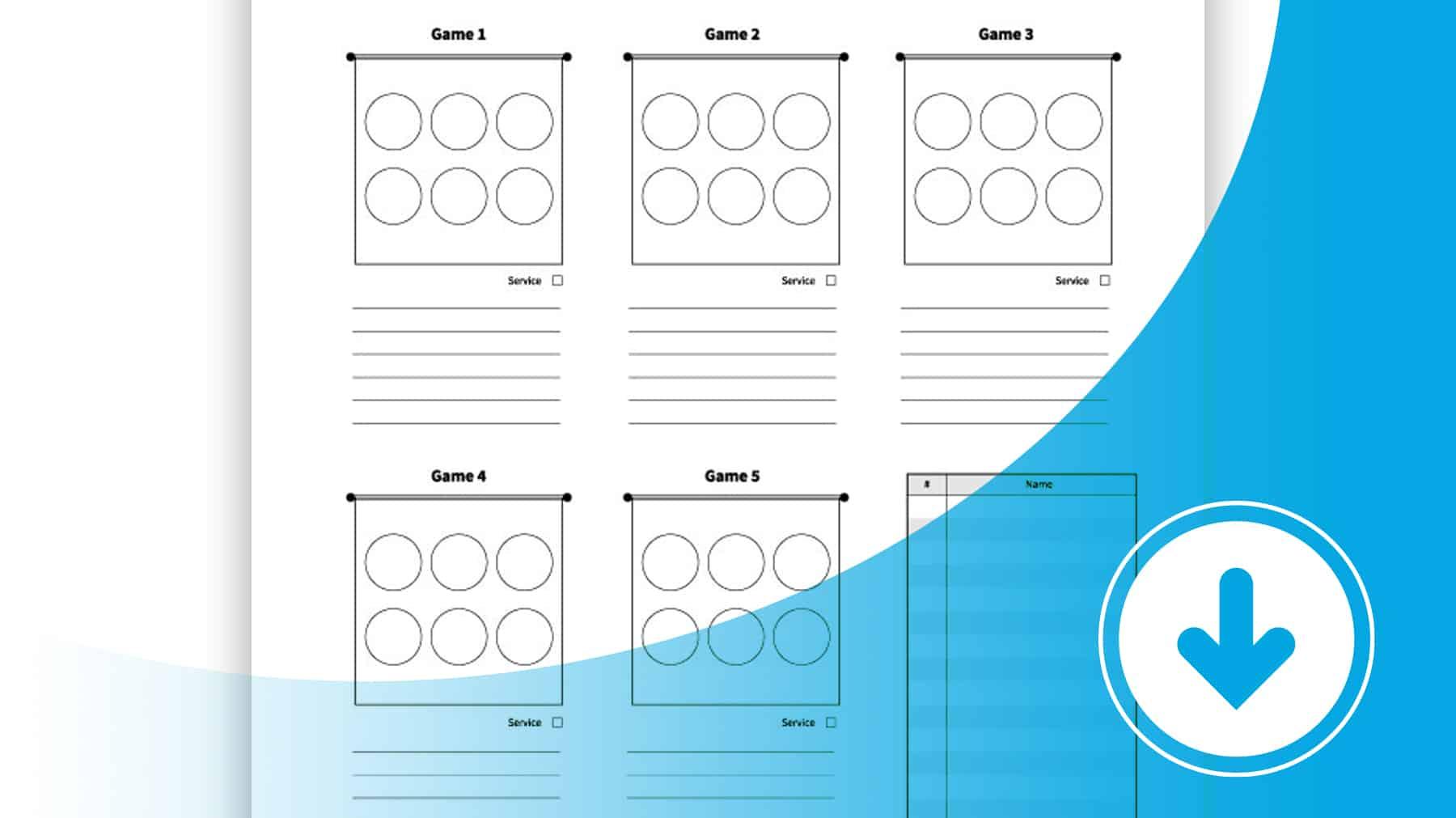 Match Line Ups Worksheet