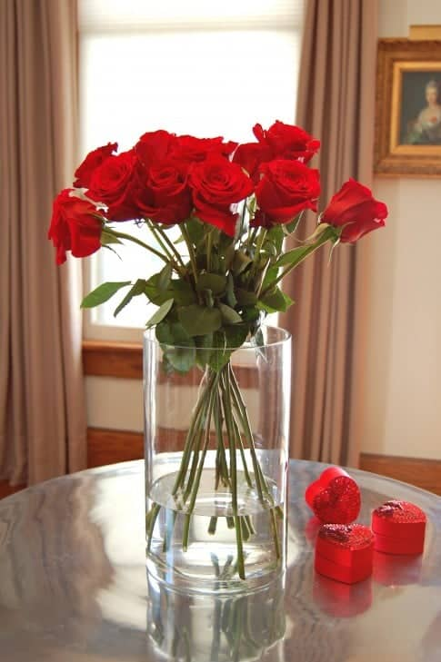 How to Arrange a Dozen Roses, even if they didn't come ...
