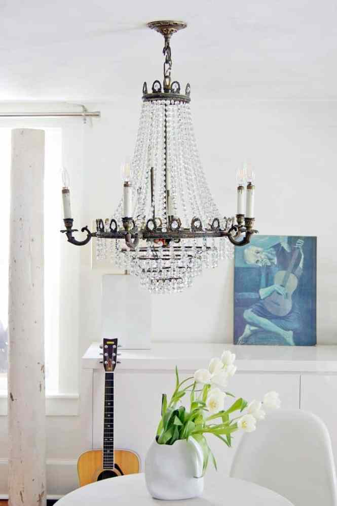 Easy Way To Clean A Chandelier