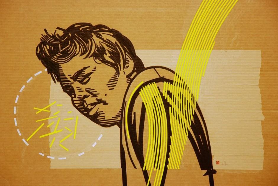 Les 30 plus belles oeuvres réalisées en Tape Art