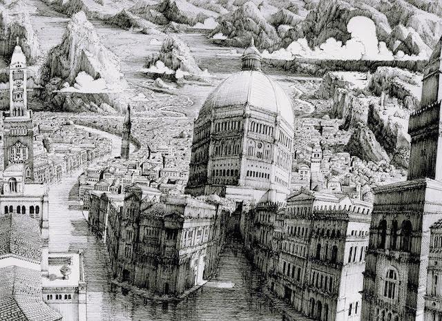 L'incroyable dessin infini de Ben Sack