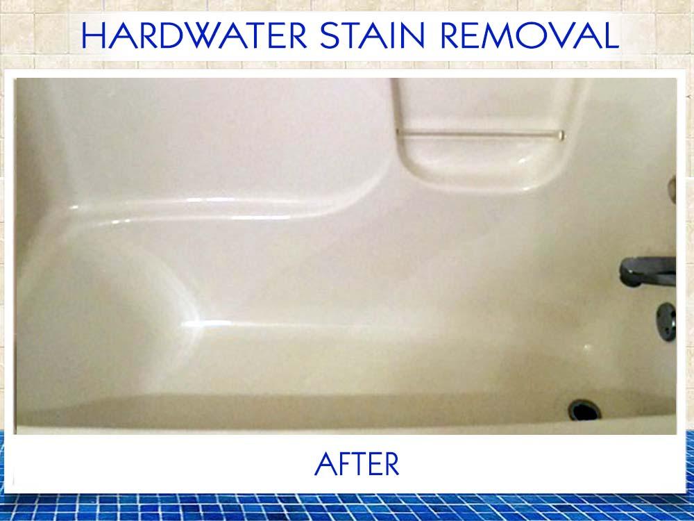 Hardwater Stain Removal Total Bathtub RefinishingTub