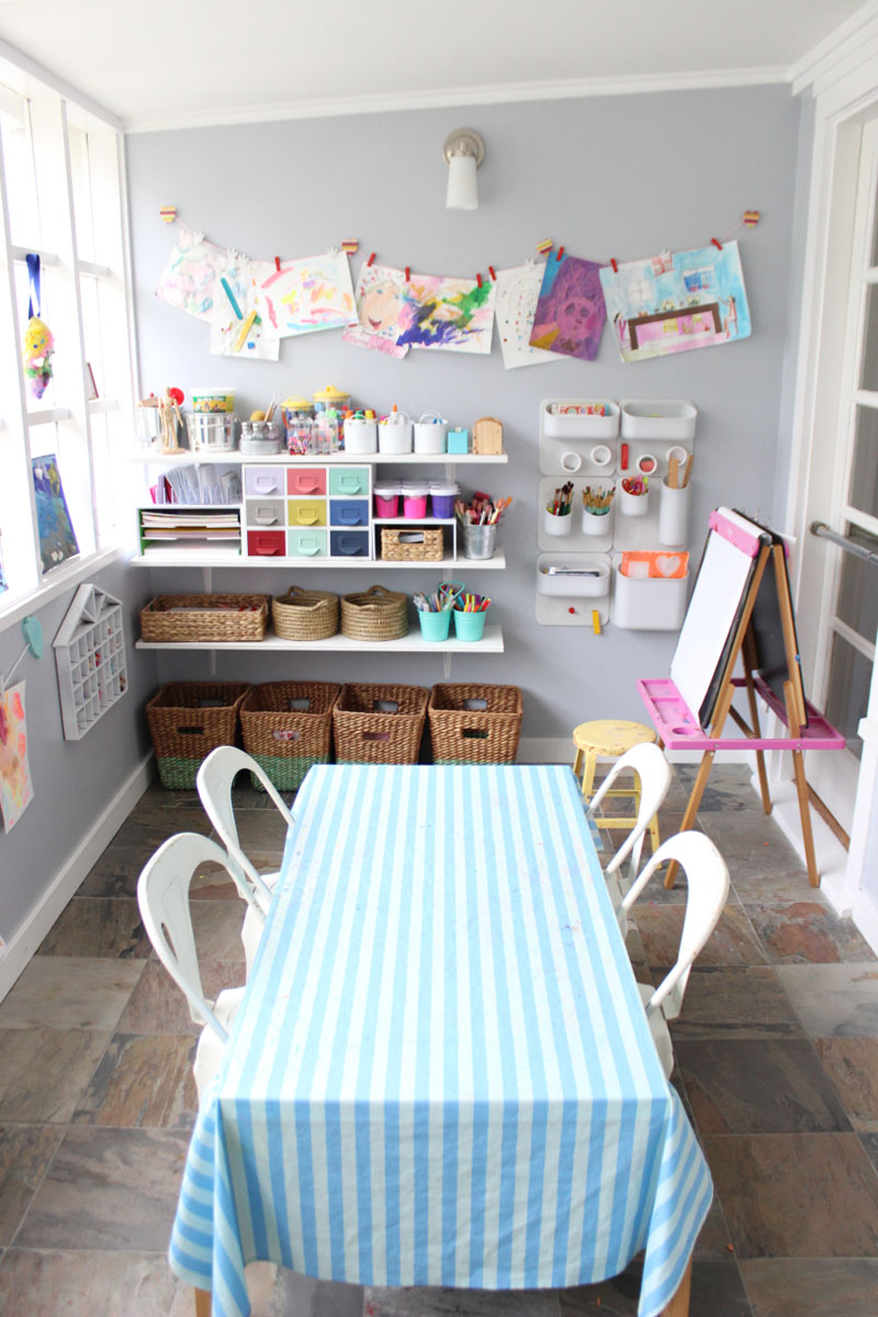 our home art studio - the art pantry