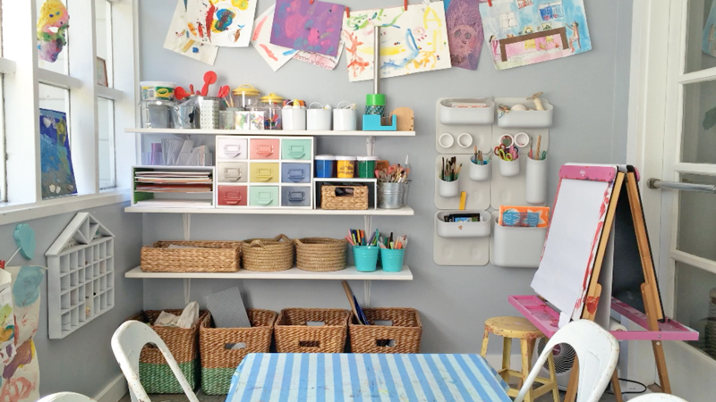 Benefits Of An Organized Art Area The Art Pantry