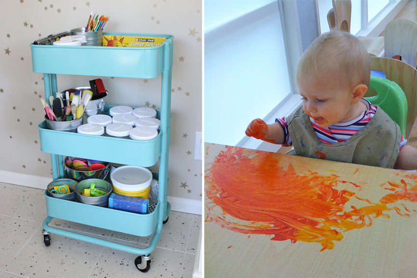 Keep Toddler Off Kitchen Chairs