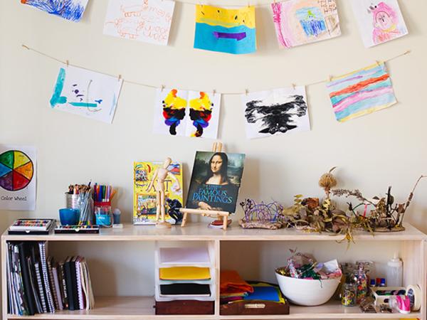 Happiness-Is-Here-Homeschool-Art-Area