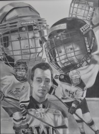 Hockey Drawing Collen