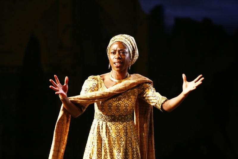 Nikki Amuka-Bird in Welcome to Thebes
