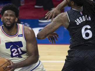 'I Got One Task': Sixers' Joel Embiid Explains Why He's Not Smiling