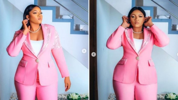 Actress Omotola Ekeinde reveals the man she loves in many languages and it's not her husband