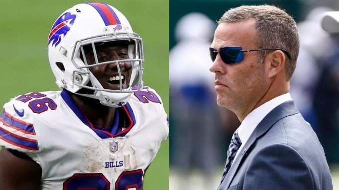 Bills' Devin Singletary Claps Back at GM's Insulting Remarks