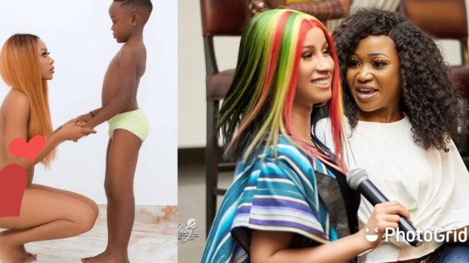 Cardi B finally reacts to Akuapem Poloo's 90-day jail sentence over unclad photoshoot with her son
