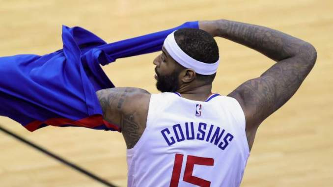 Clippers to Make Big Decision on Cousins, Roster Spot