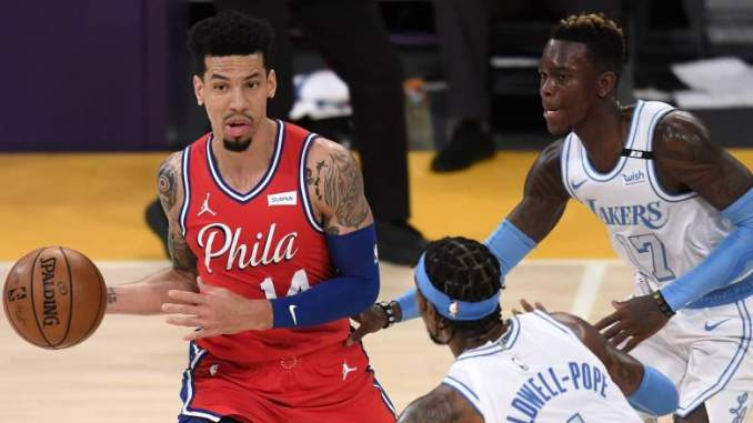Ex-Lakers Danny Green & Dwight Howard Thrive With Sixers