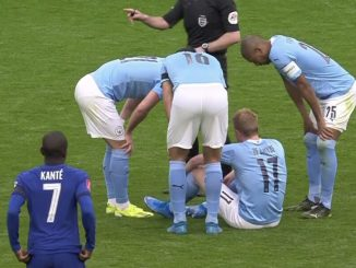 Guardiola admits 'it doesn't look good' for City star after injury