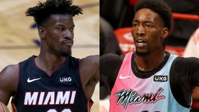 Heat's Bam Adebayo Claps Back at Jimmy Butler's Comments