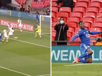 Iheanacho strikes first for Leicester at Wembley