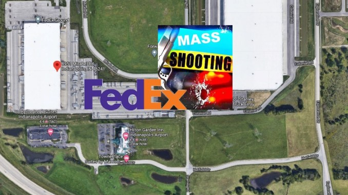 Indy Police Dispatch Audio Emerges In Overnight FedEx Facility Mass Shooting