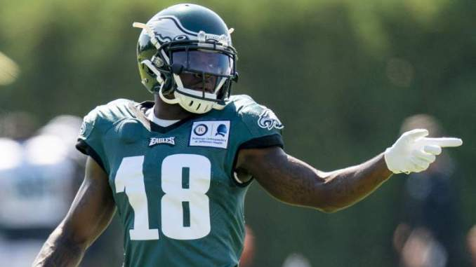 Jalen Reagor Reacts to Eagles Drafting Possible Replacement
